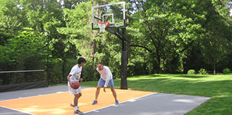 Custom-Outdoor-Basketball-Court
