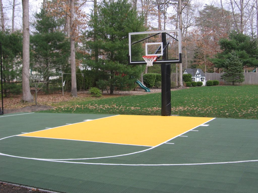 Basketball Court Construction Deshayes Dream Courts