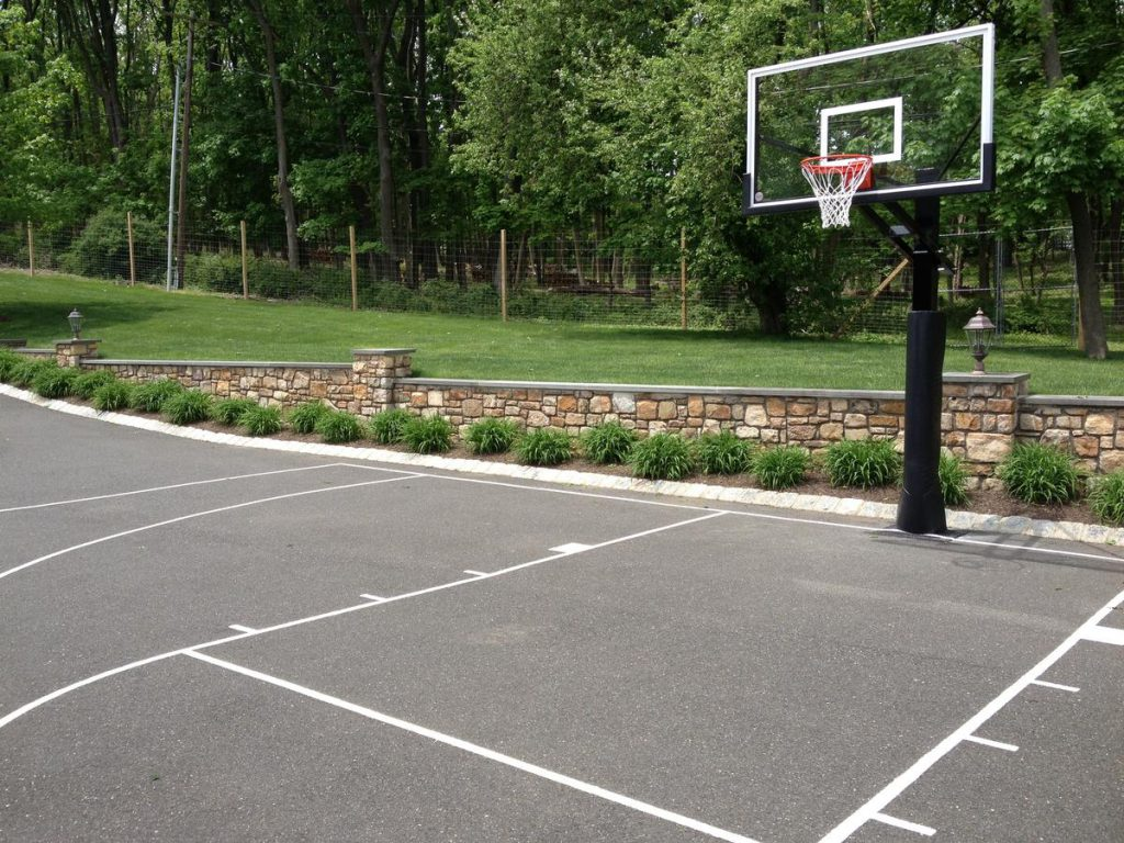 Driveway Basketball Courts Deshayes Dream Courts