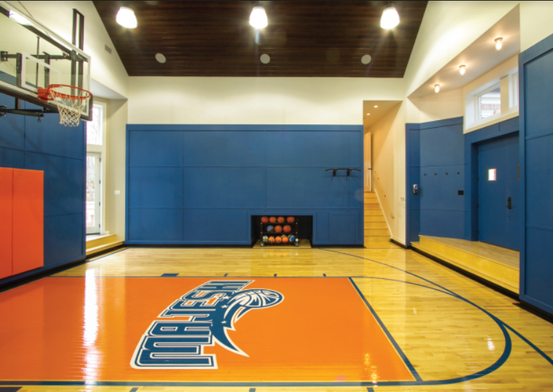 Custom-indoor-basketball-court-Medford-NJ-DeShayed-Dream-Courts