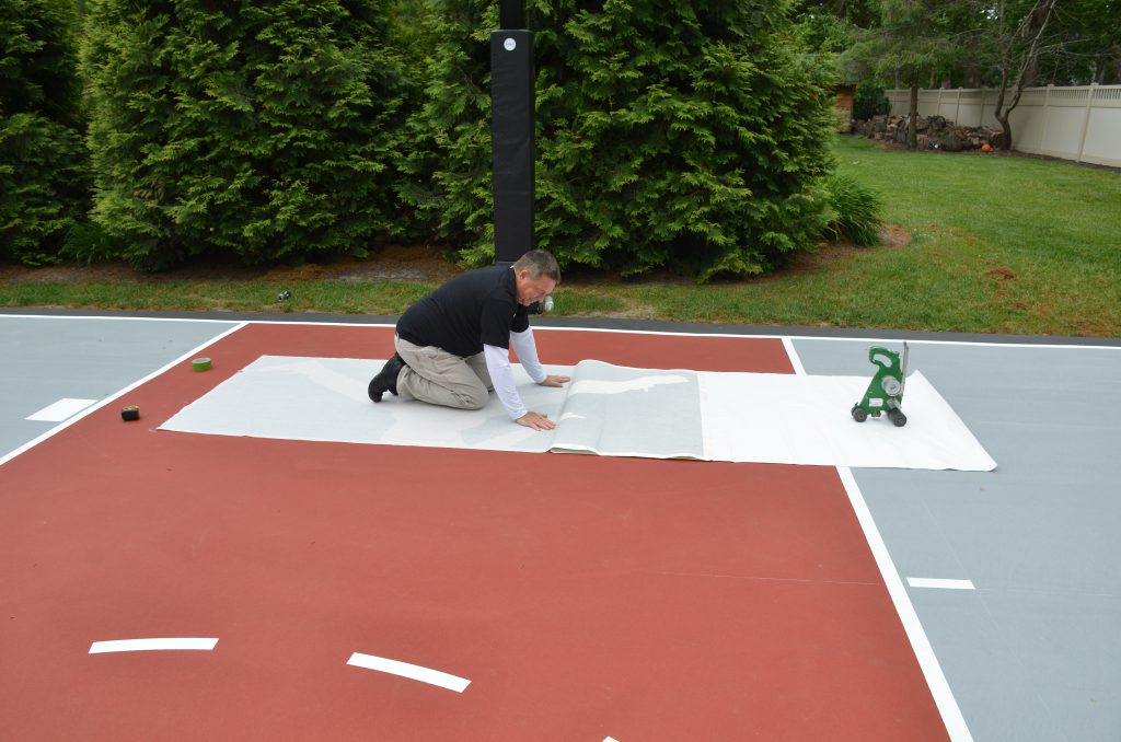 custom-driveway-basketball-court-michael-jordon-logo