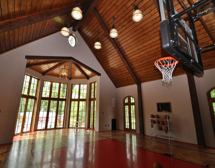 Custom Indoor Basketball Courts Deshayes Dream Courts