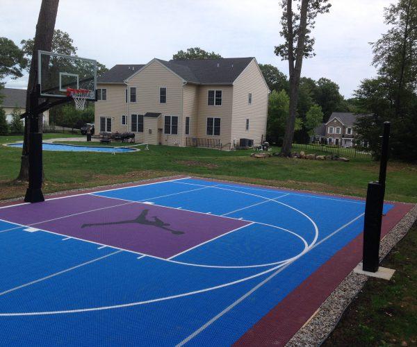 Custom-Outdoor-Basketball-Court-Vineland2-NJ-DeShayes-Dream-Courts