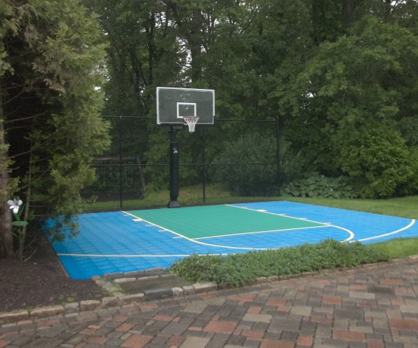 Custom-Outdoor-Half-Basketball-Court-Denville-NJ-DeShayes-Dream-Courts