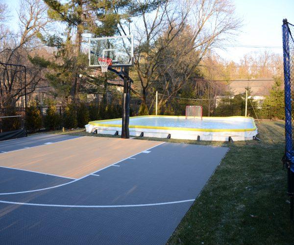Custom-Outdoor-Half-Basketball-Court-Edison-NJ-DeShayes-Dream-Courts