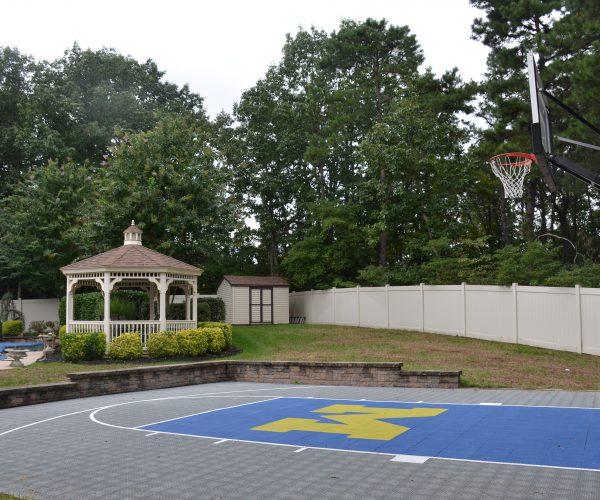 Custom-Outdoor-Half-Basketball-Court2-West-Orange-NJ-DeShayes-Dream-Courts