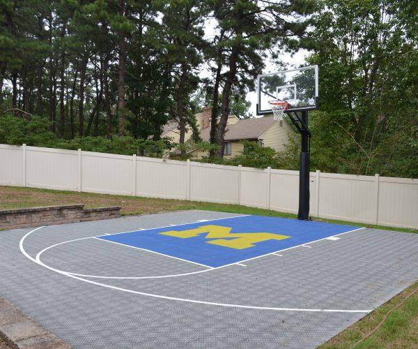 Custom-Outdoor-Half-Basketball-Court3-West-Orange-NJ-DeShayes-Dream-Courts