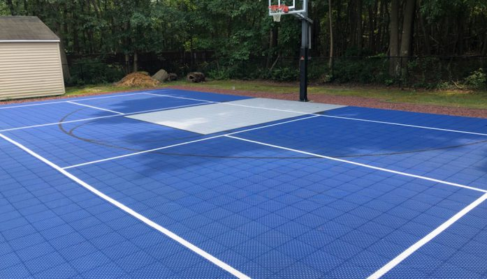 Sport Tile Overlays with Limited Lifetime Warranty