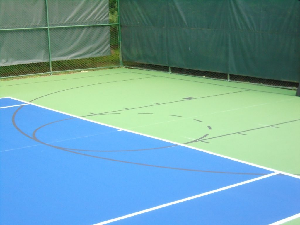 non competing court lines